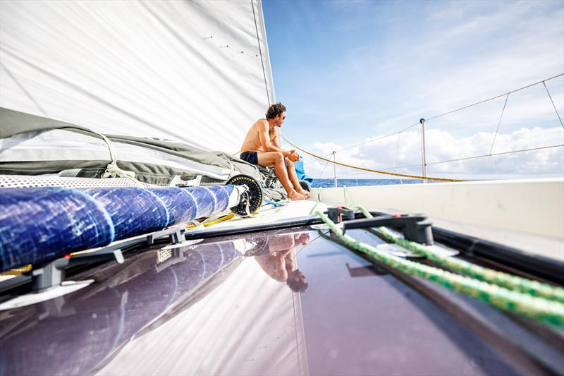 Leg 4, Melbourne to Hong Kong, day 11, Roerto Bermudez