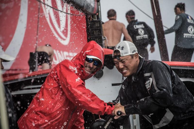 Volvo Ocean Race Leg 4, Melbourne to Hong Kong, day 11 on board Dongfeng. photo copyright Martin Keruzore / Volvo Ocean Race taken at  and featuring the Volvo One-Design class
