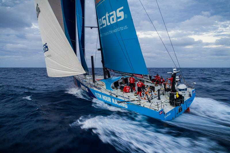 Leg 4, Melbourne to Hong Kong, day 17, easy sailing on board Vestas 11th Hour nearing Luzon and the Philippines. - photo © Amory Ross / Volvo Ocean Race