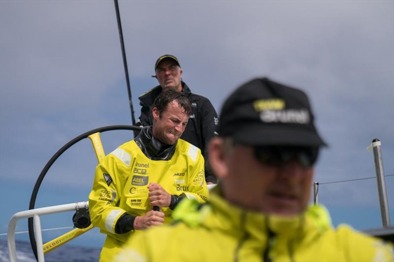 Volvo Ocean Race Leg 6 to Auckland, day 07 on board Brunel. Louis Balcaen. 13 February photo copyright Yann Riou / Volvo Ocean Race taken at  and featuring the Volvo One-Design class