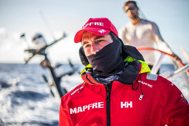 Leg 6 to Auckland, Day 7 on board MAPFRE, Blair Tuke. 13 February, . - photo © Ugo Fonolla / Volvo Ocean Race