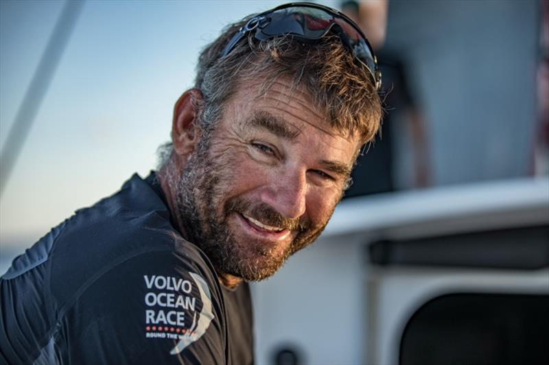 Volvo Ocean Race Leg 6 to Auckland, day 15 on board Sun hung Kai / Scallywag. David Witt. 21 February - photo © Jeremie Lecaudey / Volvo Ocean Race