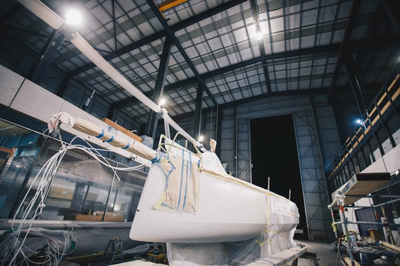 Vestas 11th Hour Racing repairs underway at YDL facilities, West Auckland  - March 1, 2018 - photo © Vestas 11th Hour Racing