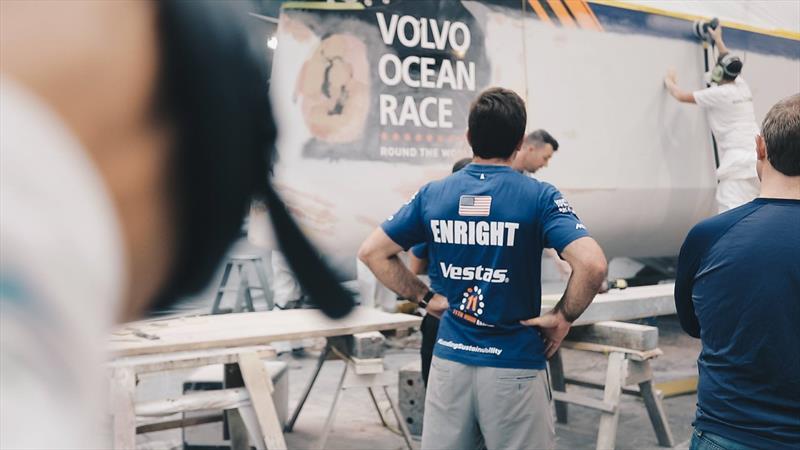 Charlie Enright, Vestas 11th Hour Racing - photo © Vestas 11th Hour Racing/Volvo Ocean race