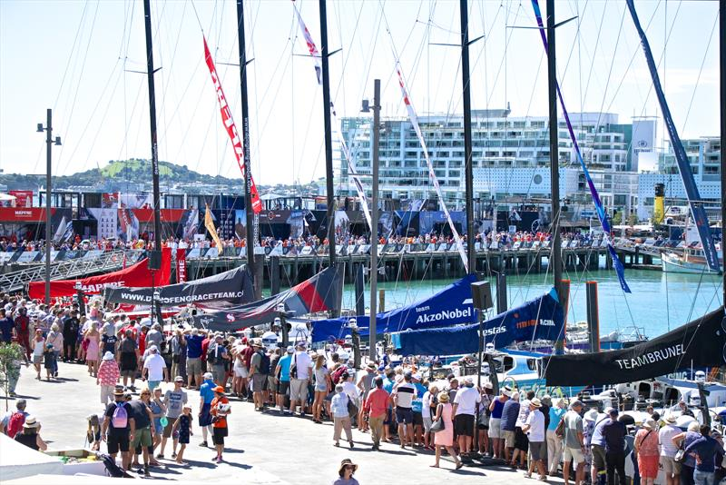 On the Dock - Volvo Ocean Race - Auckland Stopover In Port Race, Auckland, March 10, photo copyright Richard Gladwell taken at  and featuring the Volvo One-Design class