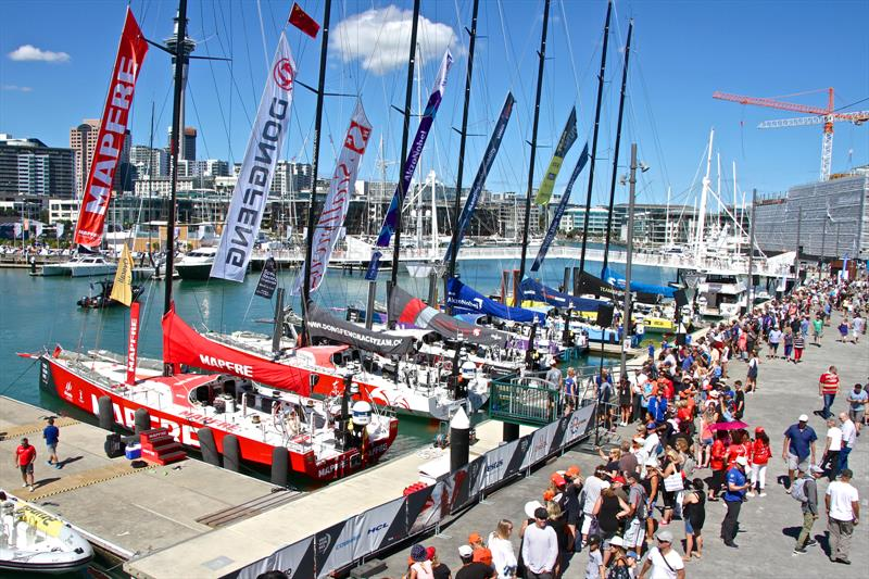 Dockside - Volvo Ocean Race - Auckland Stopover In Port Race, Auckland, March 10, - photo © Richard Gladwell