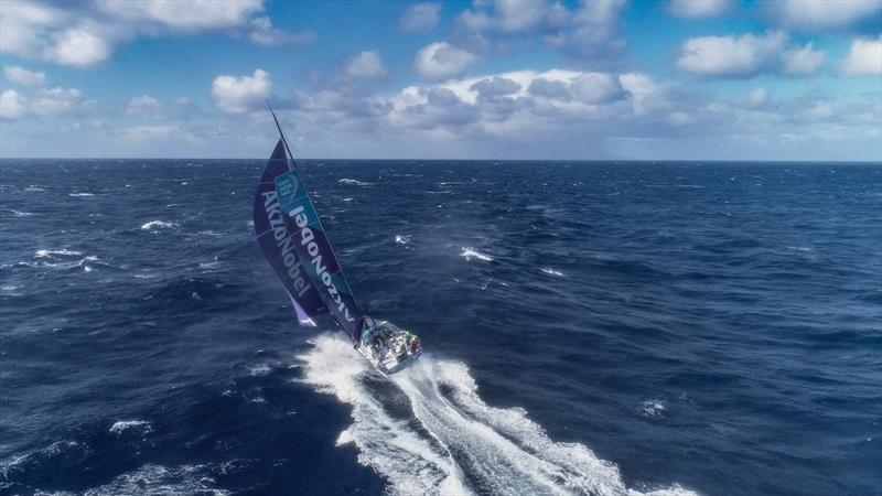 Leg 7 from Auckland to Itajai, day 10 on board AkzoNobel. 26 March, . - photo © James Blake / Volvo Ocean Race