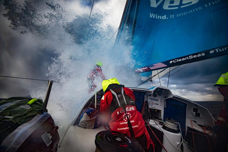 Leg 7 from Auckland to Itajai, day 11 on board Vestas 11th Hour. 27 ...