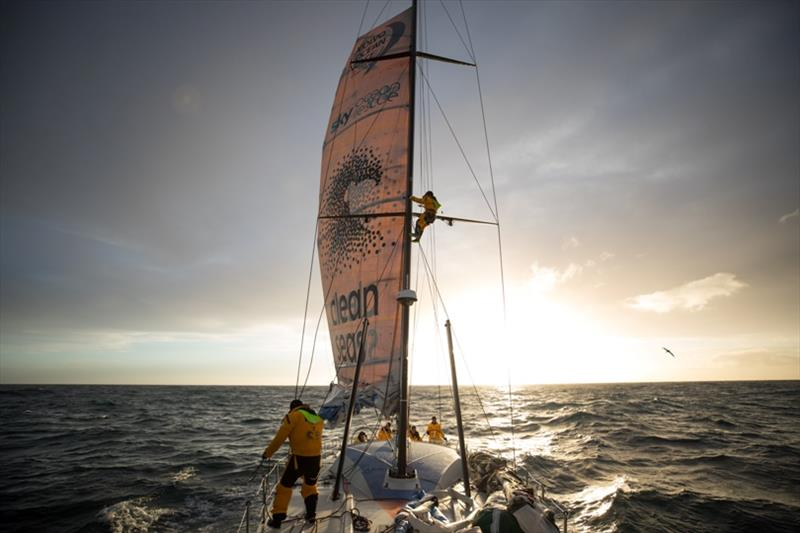 Volvo Ocean Race Leg 7 from Auckland to Itajai, day 14 on board Turn the Tide on Plastic. - photo © Sam Greenfield / Volvo Ocean Race