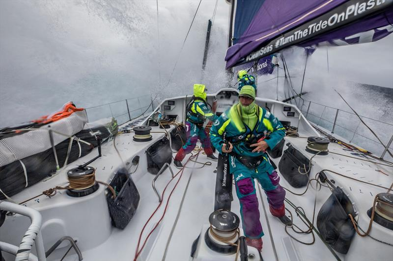 Leg 7 from Auckland to Itajai, day 7 on board AkzoNobel. 23 March, . Could be a bit on in a second. - photo © James Blake / Volvo Ocean Race