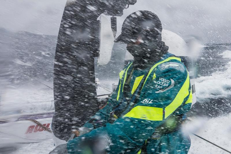 Leg 7 from Auckland to Itajai, day 7 on board AkzoNobel. 23 March, . Luke Molloy. - photo © James Blake / Volvo Ocean Race
