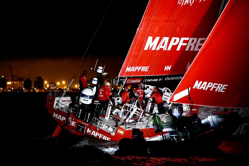 Leg 7 from Auckland to Itajai. Arrivals. 08 April, . - photo © Pedro Martinez / Volvo Ocean Race