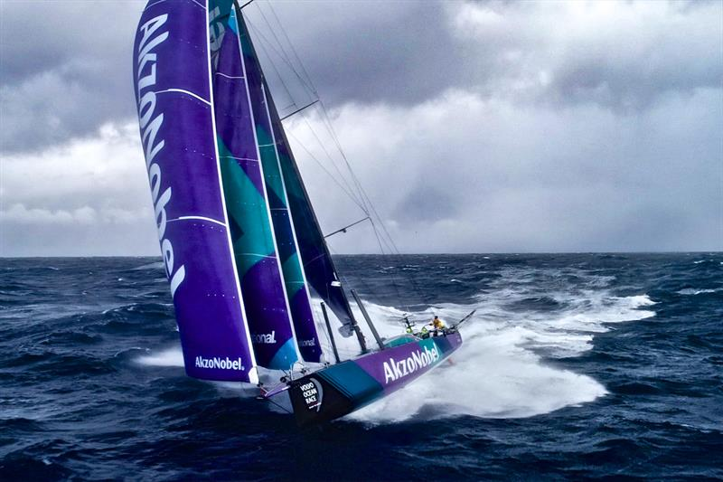 Leg 7 from Auckland to Itajai, day 11 on board AkzoNobel. 28 March, . - photo © James Blake / Volvo Ocean Race