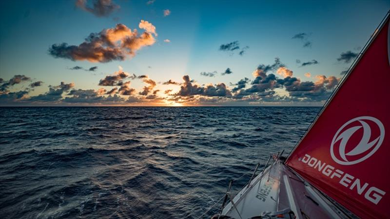 Volvo Ocean Race Leg 8 from Itajai to Newport, day 02 on board Dongfeng - photo © Jeremie Lecaudey / Volvo Ocean Race