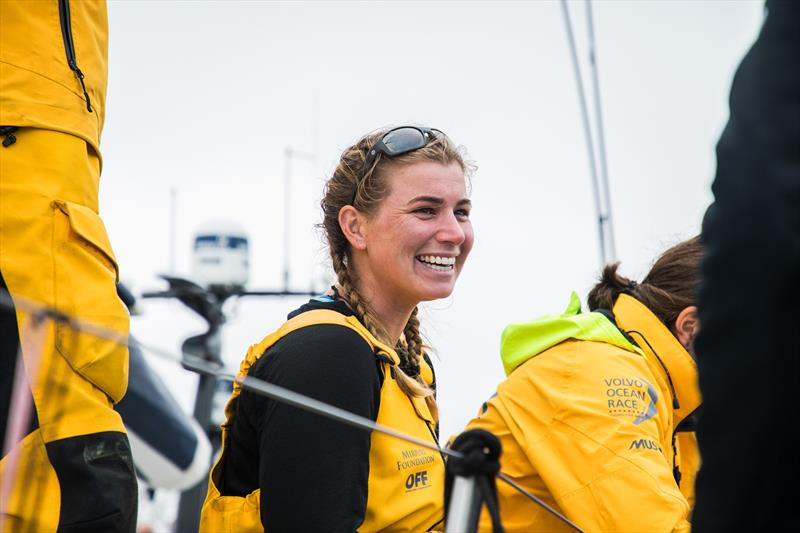 Bianca Cook - Leg 9, from Newport to Cardiff, arrivals. 29 May, . - photo © Jen Edney / Volvo Ocean Race