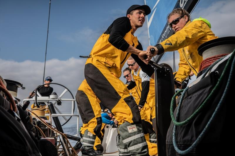 Volvo Ocean Race Leg 10, from Cardiff to Gothenburg, day 02, on board Turn the Tide on Plastic. - photo © Jen Edney / Volvo Ocean Race