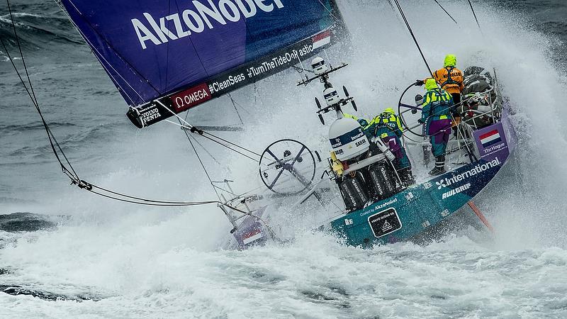 Team AkzoNobel - Leg 10 from Cardiff to Gothenburg.  - photo © Ainhoa Sanchez / Volvo Ocean Race