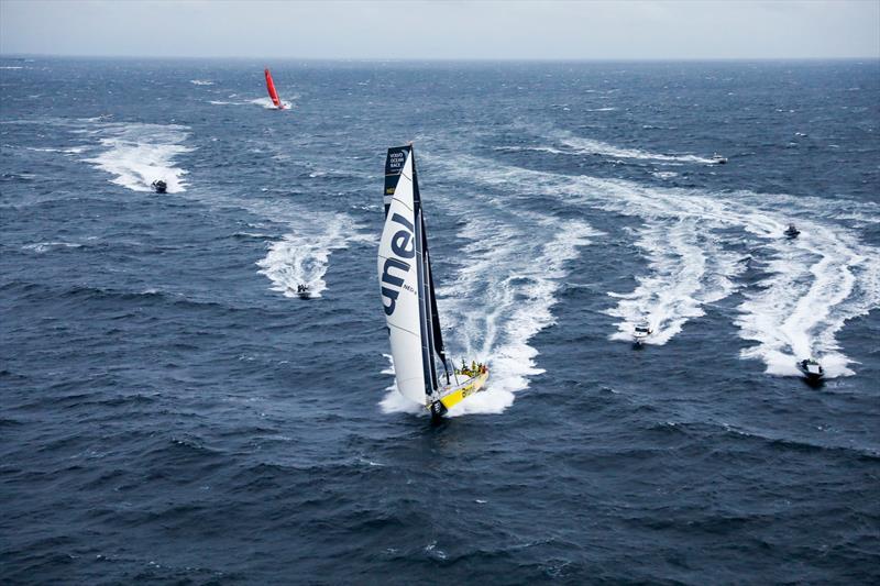 Team Brunel - Leg 10, from Cardiff to Gothenburg, arrivals. 14 June, . - photo © Ainhoa Sanchez / Volvo Ocean Race