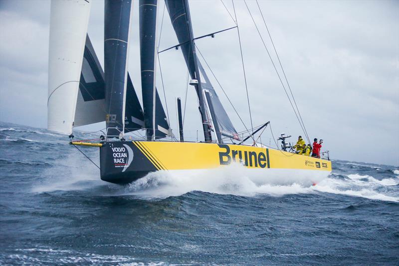 Team Brunel - Leg 10, from Cardiff to Gothenburg, arrivals. 14 June, . - photo © Jesus Renedo / Volvo Ocean Race