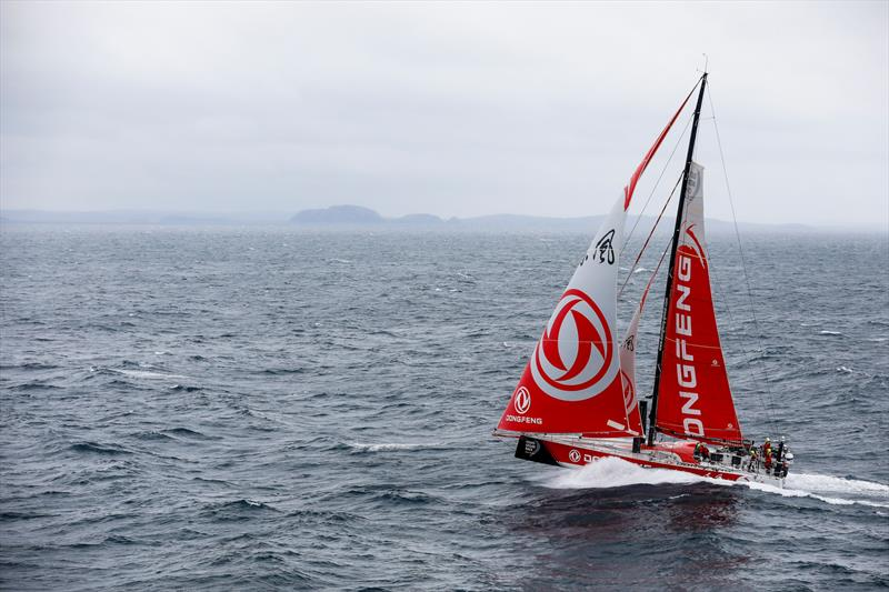 Dongfeng - Leg 10, from Cardiff to Gothenburg, LIVE from the helicopter Day 04. 13 June, 2018. - photo © Ainhoa Sanchez / Volvo Ocean Race