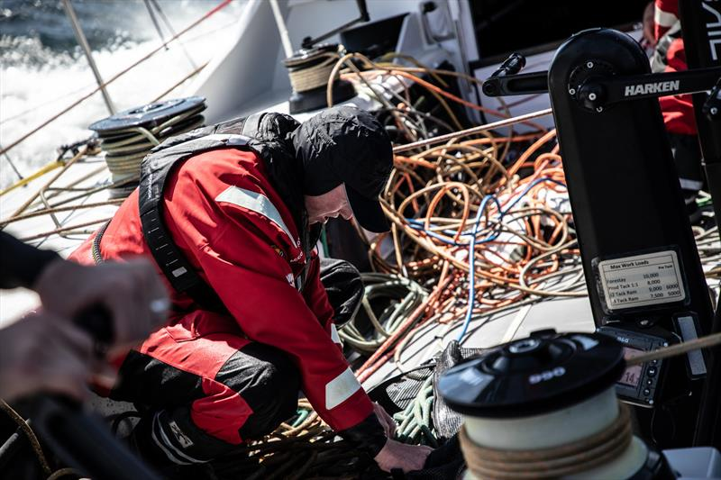 Leg 11, from Gothenburg to The Hague, Day 2 on board Sun Hung Kai / Scallywag. Trystan Seal in the snake pit. 22 June, . - photo © Konrad Frost / Volvo Ocean Race