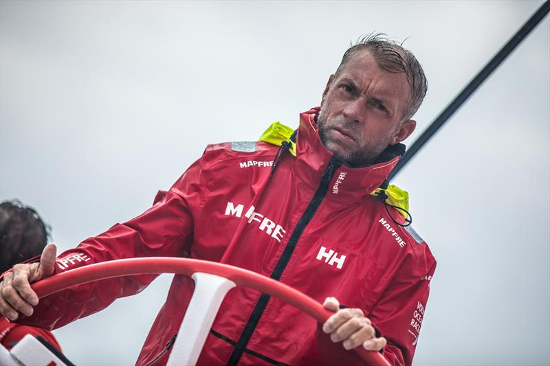 Rob Greenhalgh, Leg 4, Melbourne to Hong Kong, Day 10 on board MAPFRE - photo © Ugo Fonolla / Volvo Ocean Race