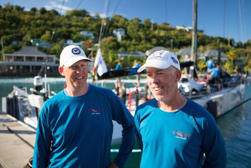 'To win the race is beyond our wildest dreams'- Wizard Volvo 70 owned by Brothers David and Peter Askew - RORC Caribbean 600 - photo © Arthur Daniel / RORC