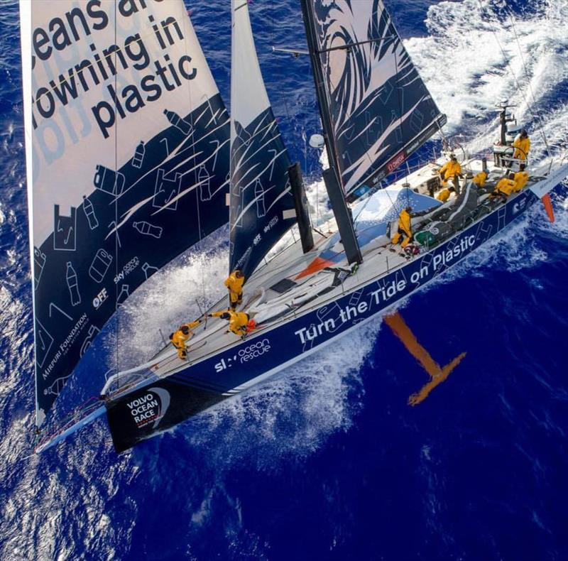 Turn the Tide on Plastic - 2017/18 Volvo Ocean Race photo copyright Mirpuri Foundation taken at  and featuring the Volvo One-Design class
