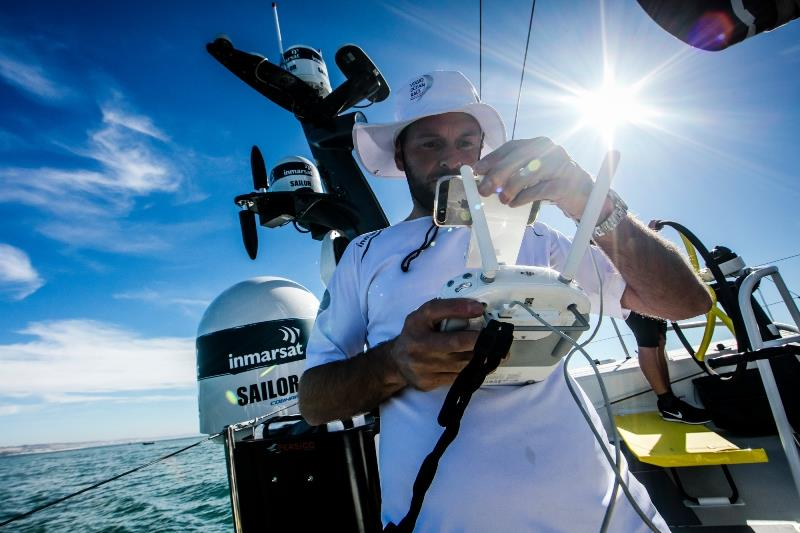 The Ocean Race has won a BT Sport Industry Award for its live coverage and raw storytelling delivered via Inmarsat's global mobile satellite network - photo © Jesus Renedo / Volvo Ocean Race