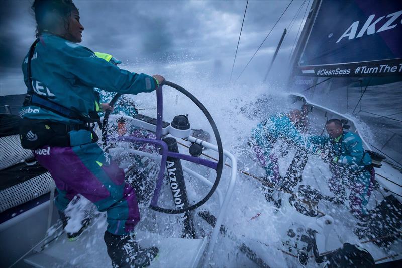 Leg 02, Lisbon to Cape Town, day 2 on board AkzoNobel. - Volvo Ocean Race - photo © James Blake / Volvo Ocean Race