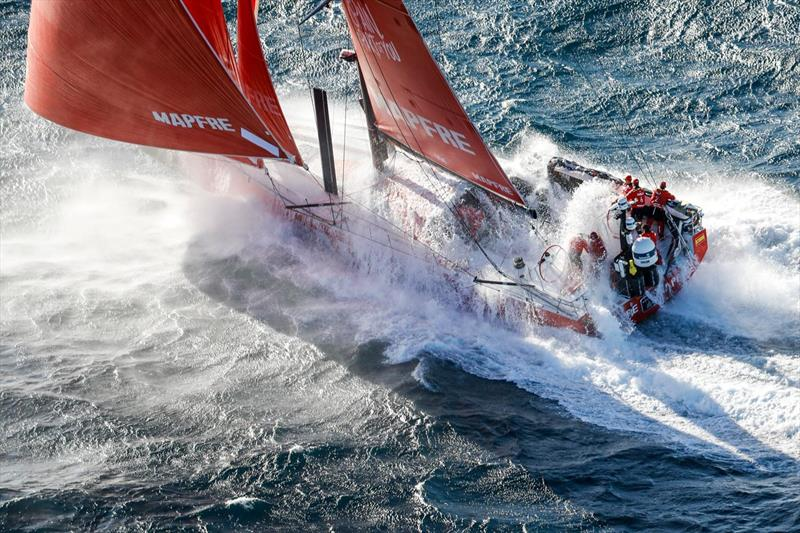 Mapfre, Volvo Ocean Race - November 6,2017 - photo © Ainhoa Sanchez / The Ocean Race