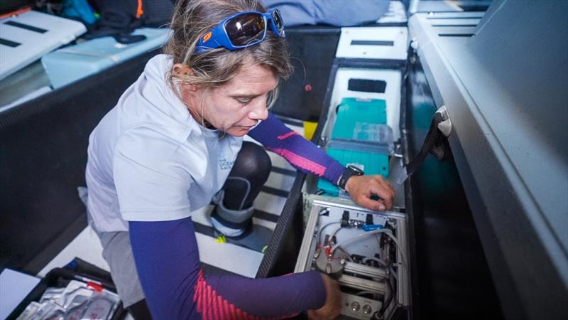The Ocean Race Microplastics Science Programme, Germany, June 18. - photo © Austin Wong / The Ocean Race