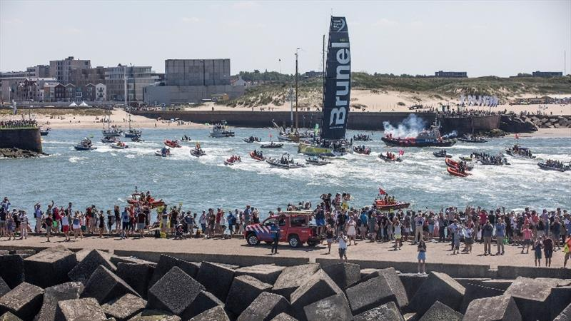 The Hague Stopover. 30 June, 2018. photo copyright Jen Edney / Volvo Ocean Race taken at  and featuring the Volvo 70 class