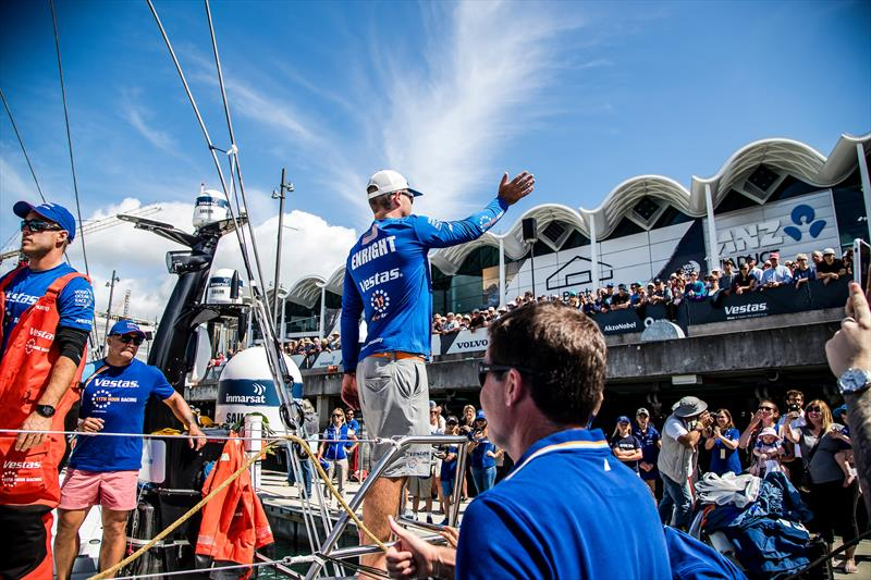 Leg 7, Auckland to Itajai, start day. 17 March, 2018. photo copyright Jesus Renedo / Volvo Ocean Race taken at Royal New Zealand Yacht Squadron and featuring the Volvo One-Design class