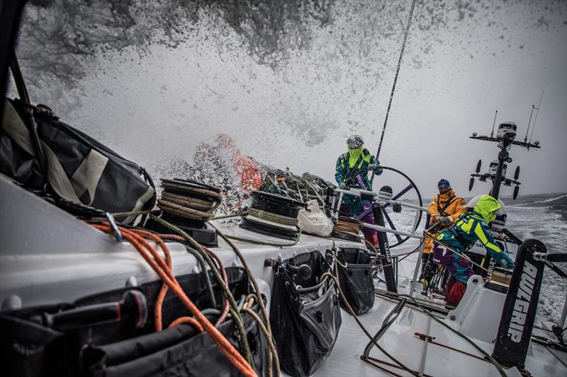 Emily Nagel and her Team AkzoNobel teammates in the 2017/2018 edition of the Volvo Ocean Race - photo © Image courtesy of The Volvo Ocean Race/Konrad Frost