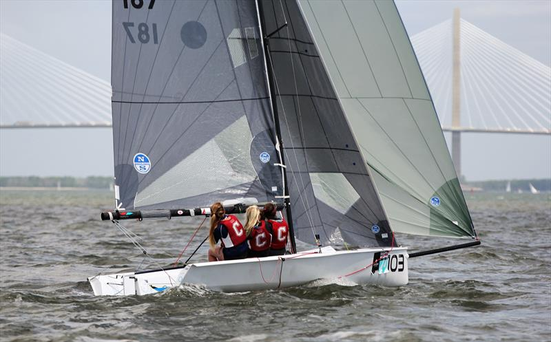 Paris Henken VX One sailing at Sperry Charleston Race Week - photo © Priscilla Parker