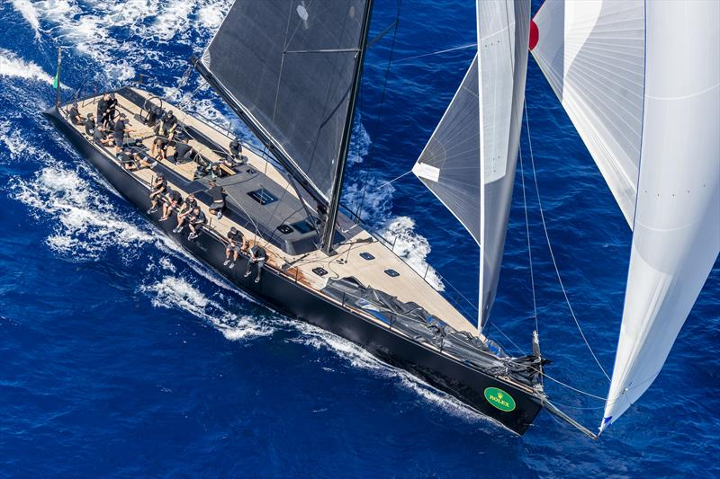 Terry Hui only started racing last year but nonetheless is defending champion in the Wally class with his Wally 78 Lyra at the Maxi Yacht Rolex Cup - photo © Rolex / Studio Borlenghi
