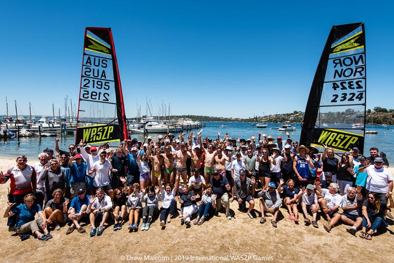 The WASZP Group living the dream in Perth at the 2019 International WASZP Games - photo © Drew Malcolm / 2019 International WASZP Games