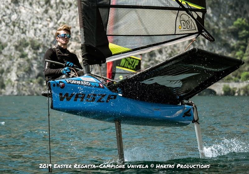 WASZP Easter Regatta at Campione Univela - photo © Hartas Productions