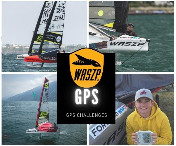 WASZP GPS Challenges - photo © WASZP