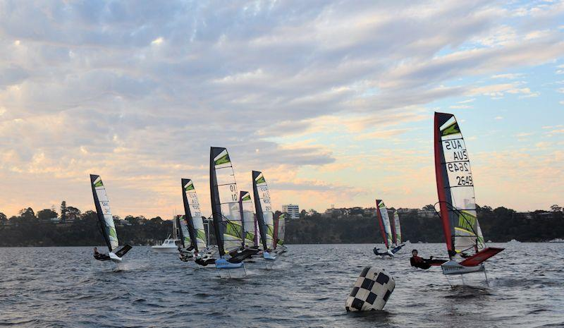 WA WASZP State Championship in Perth day 1 - photo © Marc Ablett