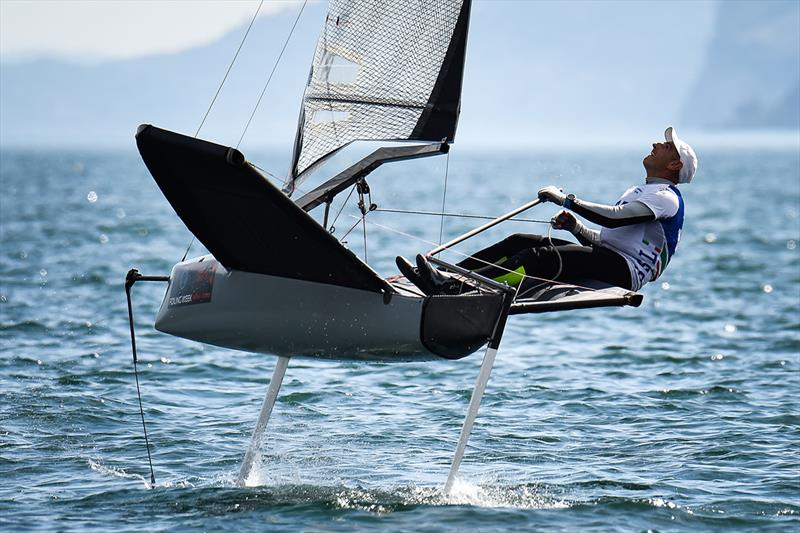 Foiling Boat Coaching - Foiling Week Garda 2019 - photo © Associazione TFW