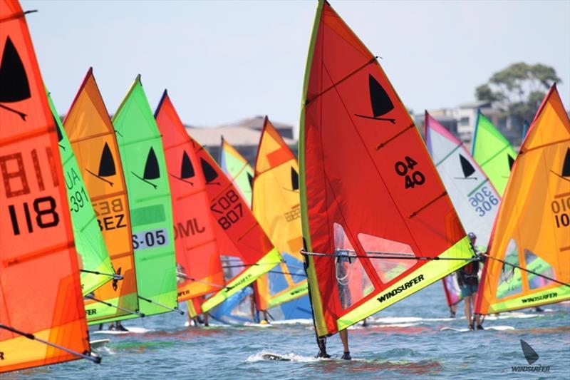 Course Race 11 - Start - Windsurfer One Design Australian Championships - photo © Shane Baker / www.shanebaker.net