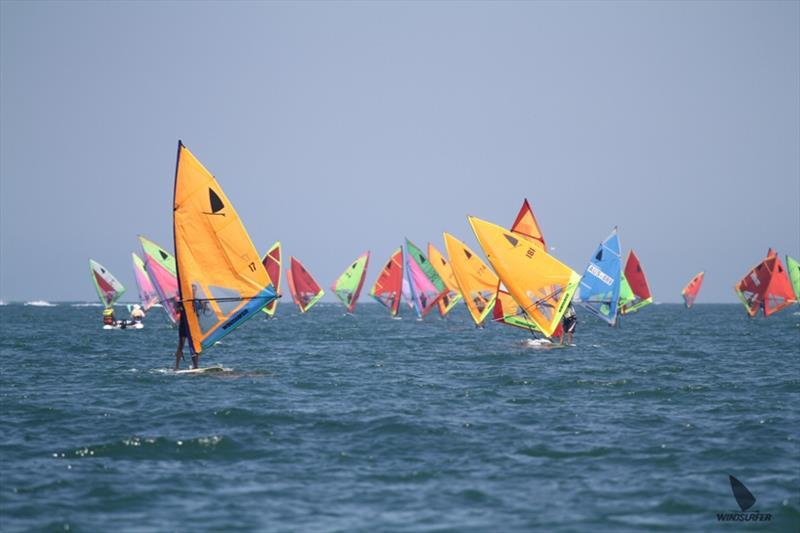 Marathon fleet - Windsurfer One Design Australian Championships - photo © Jane Leonard
