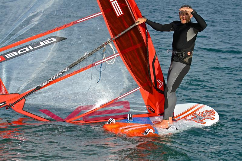 The Windfoil is pulling windsurfers back into the sport where technique has taken over from air rowing - photo © Richard Gladwell