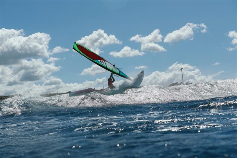 Ilya Escario photo copyright Si Crowther / IWT taken at  and featuring the Windsurfing class