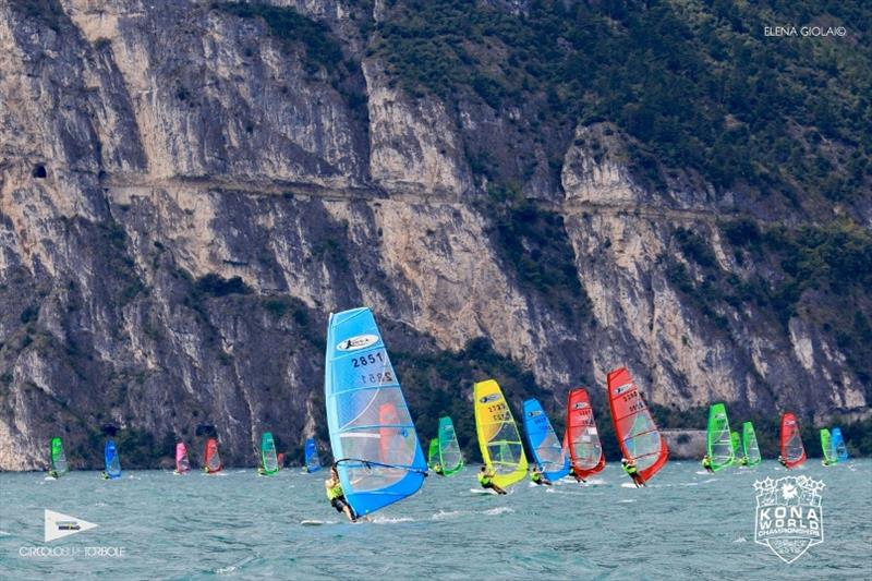 Kona Worlds 2019 at Lake Garda - Day 1 - photo © Elena Giolai