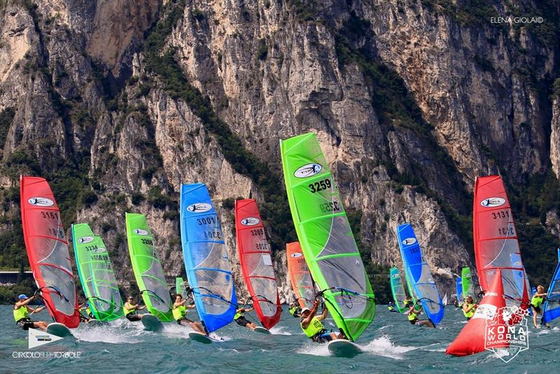 Kona fleet - 2019 Kona World Championships at Lake Garda - photo © Elena Giolai
