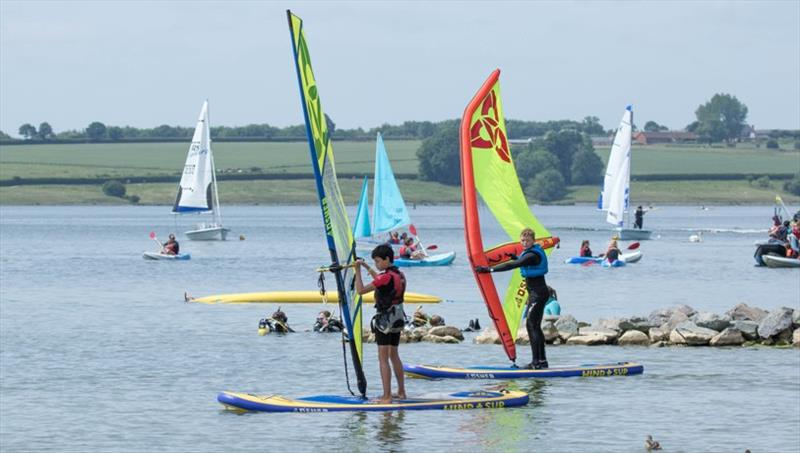 Sailing and windsurfing return to the GCSE PE activity list