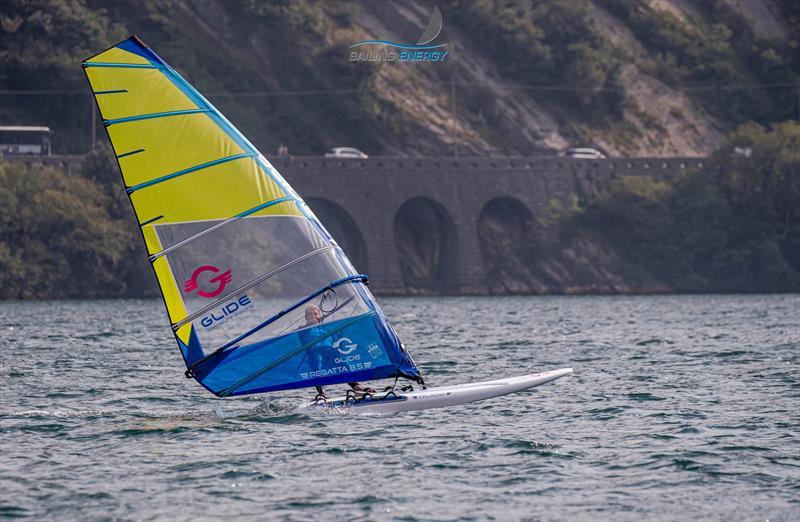 The Glide impressed many at the Windsurfer Evaluation Trials on Lake Garda - September 2019 - photo © Jesus Renedo / Sailing Energy / World Sailing